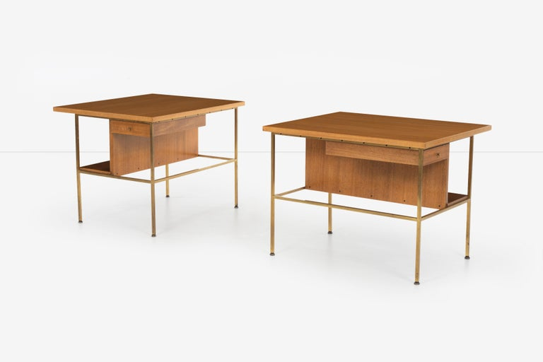 American Pair of Paul McCobb End Tables or Nightstands For Sale