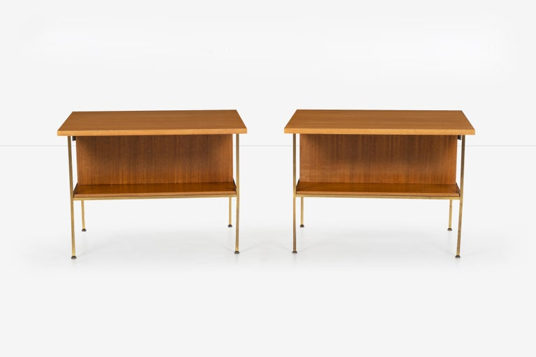 Pair of Paul McCobb End Tables or Nightstands In Good Condition For Sale In Chicago, IL