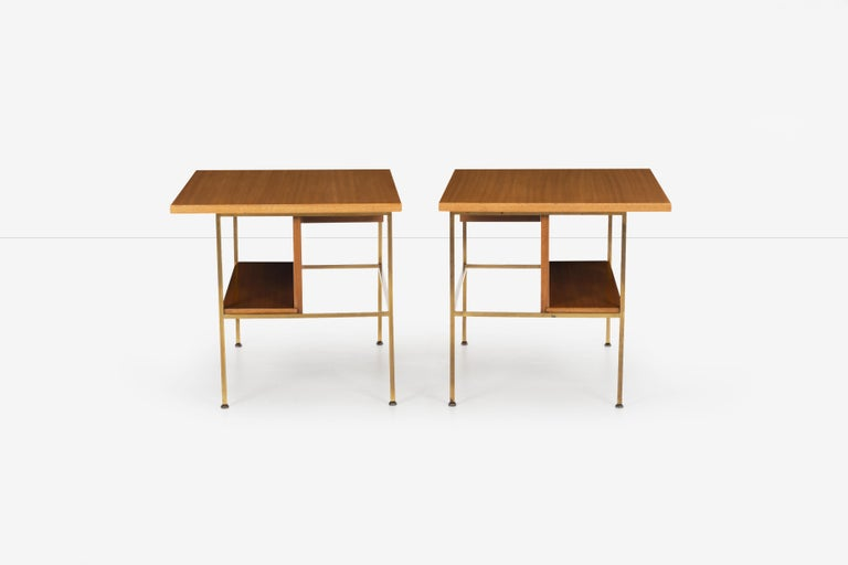 Mid-20th Century Pair of Paul McCobb End Tables or Nightstands For Sale