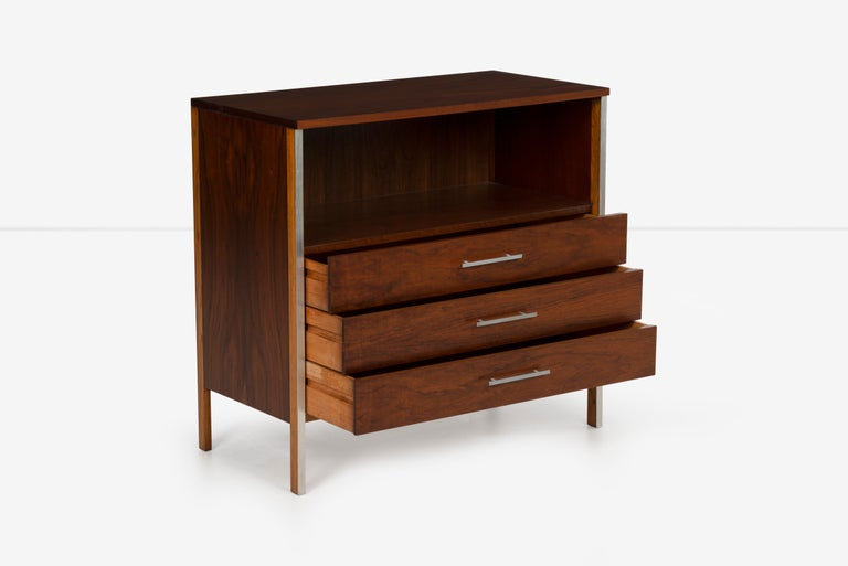 Brushed Pair of Paul McCobb for Calvin Dressers For Sale