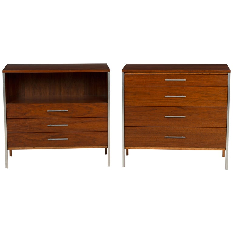 Pair of Paul McCobb for Calvin Dressers For Sale