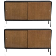 Pair of Paul McCobb Planner Group Cabinets