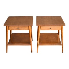 "Pair of Paul McCobb ""Planner Group"" Nightstands or End Tables 1950's"