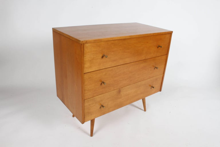 American Pair of Paul McCobb Planner Group Three-Drawer Chest For Sale