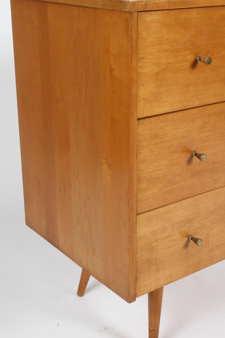 Pair of Paul McCobb Planner Group Three-Drawer Chest In Good Condition For Sale In St. Louis, MO