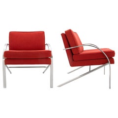 Pair of Paul Tuttle Arco Lounge Chairs