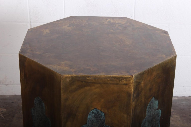 Late 20th Century Pair of Pedestal Table Bases by Philip & Kelvin LaVerne For Sale