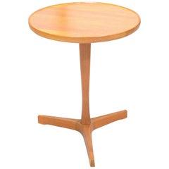 Pair of Pedestal Teak Side Tables by Hans Andersen for Artex, 1960s