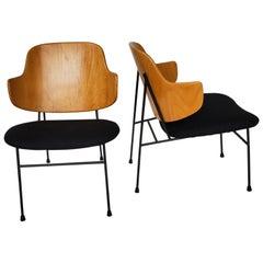 """Pair of """"Penguin"""" Lounge Chairs Ib Kofod-Larsen"""