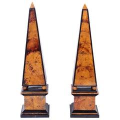 Pair of Penshell Obelisks