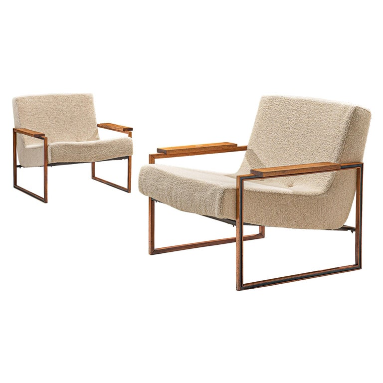 Pair of Percival Lafer Armchairs, 1960 For Sale