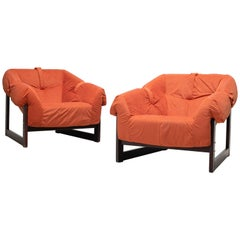Pair of Percival Lafer Lounge Chairs