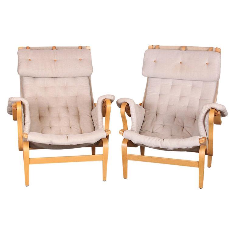 Pernilla Chair and Ottoman