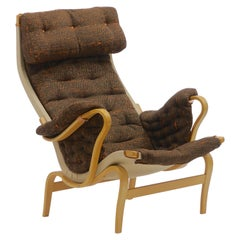 Pair of Pernilla Lounge Chairs by Bruno Mathsson