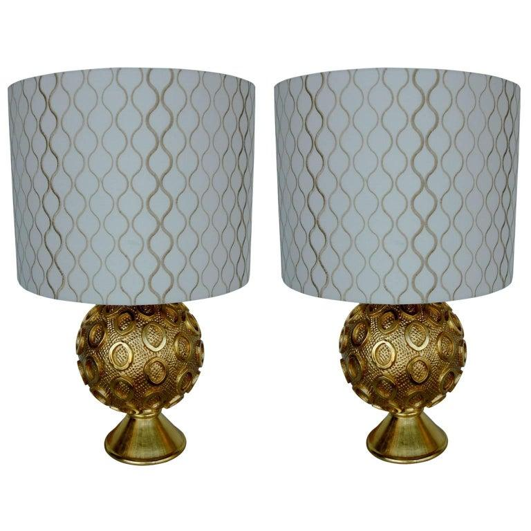 American Pair of Perth Lamps by Bryan Cox For Sale