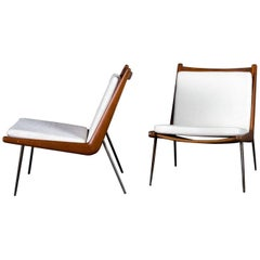 Pair of Peter Hvidt Armchairs