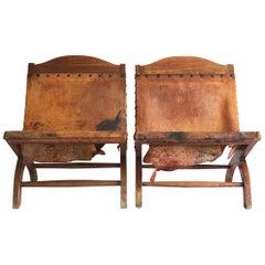 Pair of Petite Butaques Attributed to William Spratling
