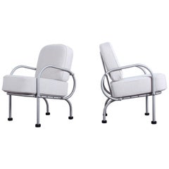 Pair of Petite Lounge Chairs by Warren McArthur