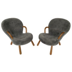 Pair of Philip Arctander Lounge Chairs for Paustian