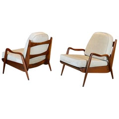 "Pair of Phillip Lloyd Powell ""New Hope"" Lounge Chairs, 1970"