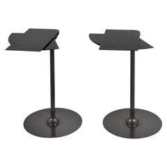 Pair of Pierre Chareau Éventail Side Tables