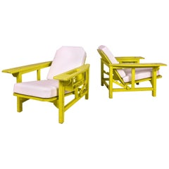 Pair of Pierre Dariel Armchairs, circa 1920, France