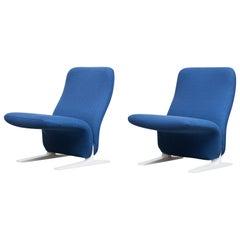 """Pair of Pierre Paulin F780 """"Concorde"""" Chair by Artifort"""