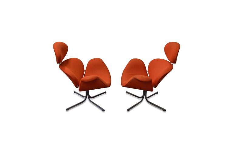 Pair of Pierre Paulin First Edition