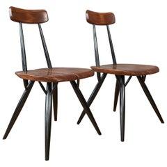 "Pair of ""Pirkka"" Chairs by Ilmari Tapiovaara"