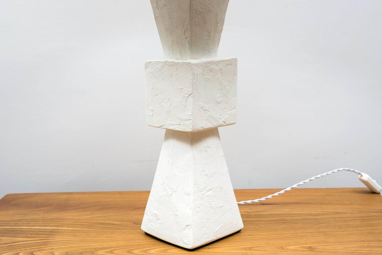 Pair of Plaster Lamps For Sale 2