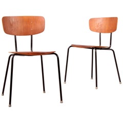 Pair of Plywood Chairs