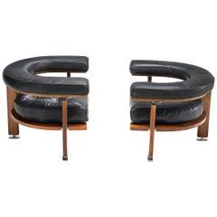 """Pair of """"Polar"""" Lounge Chairs by Esko Pajamies, Finland, 1960s"""