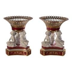 Pair of Porcelain Vases, 20th Century