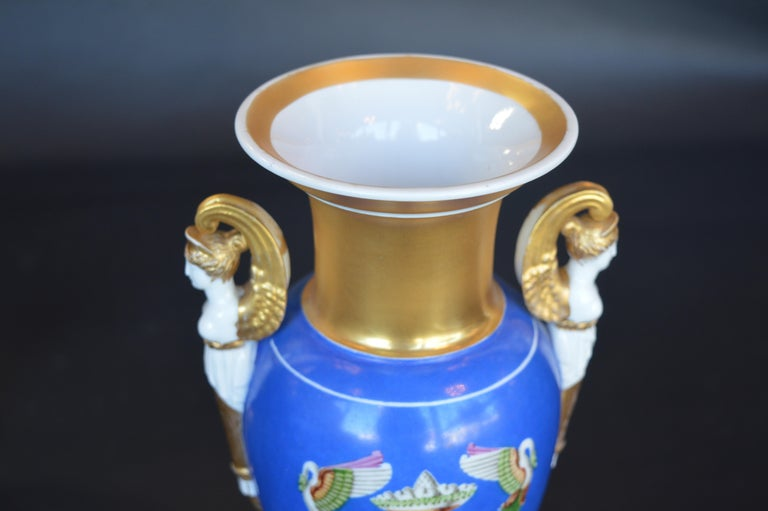 Pair of Porcelain Vases For Sale 2