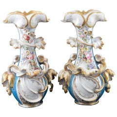 Pair of Porcelain Vases 'with Flaws', France, 19th Century