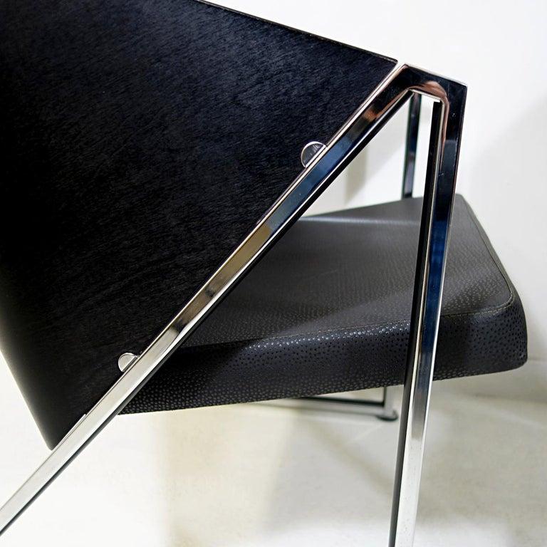 Pair of Mondi Soft Chairs by Finnish Designer Jouko Järvisalo for Inno In Good Condition For Sale In Doornspijk, NL