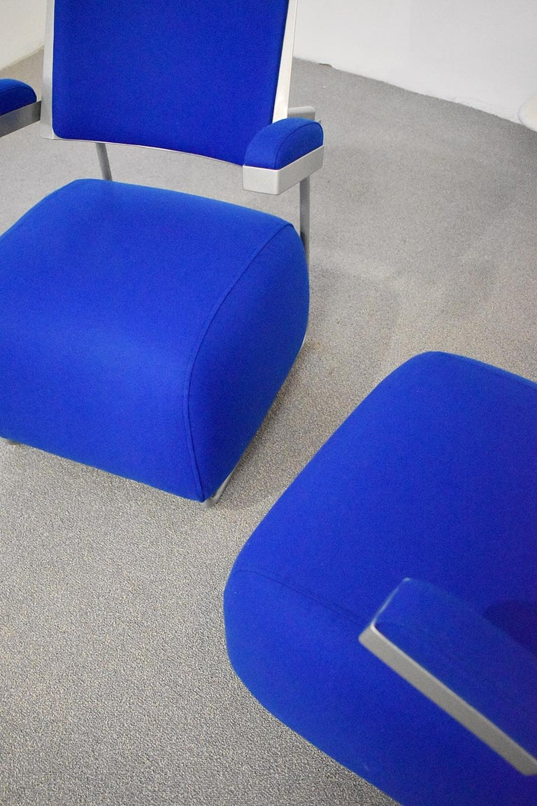 Pair of Postmodern Lounge Chairs by Harri Korhonen for Inno, Finland, 1990 In Good Condition For Sale In Debrecen-Pallag, HU