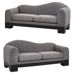 Pair of Postmodern Sofas by Directional Furniture, 1980
