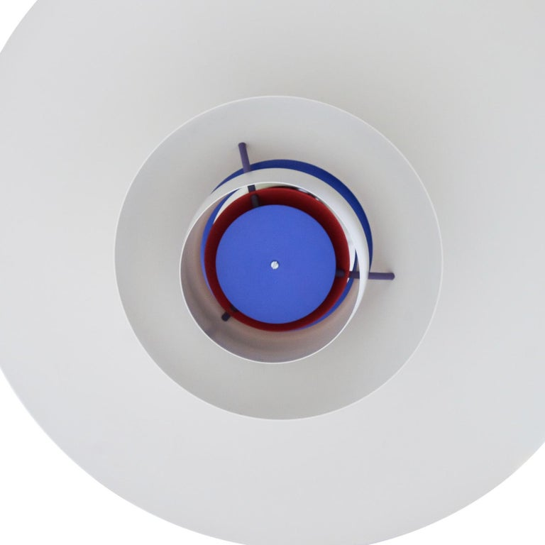 Metal Danish Design Classic Pair of Poul Henningsen PH5 Pendant Lamps, 1960s For Sale