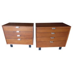 """Pair of """"Primavera"""" Bedside Chests Designed by George Nelson for Herman Miller"""