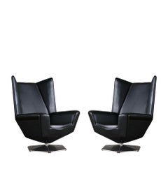 Pair of 'Prisma' Lounge Chairs by Voitto Haapalainen