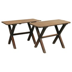 Pair of Pub Tables