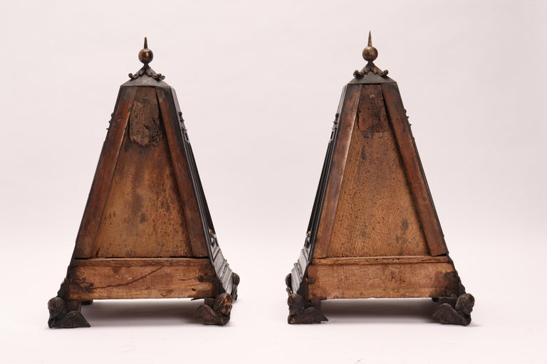 Pair of Pyramids of Grand Tour, Italy, 1830 For Sale 2