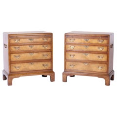 Pair of Queen Anne Style Nightstands or Chests