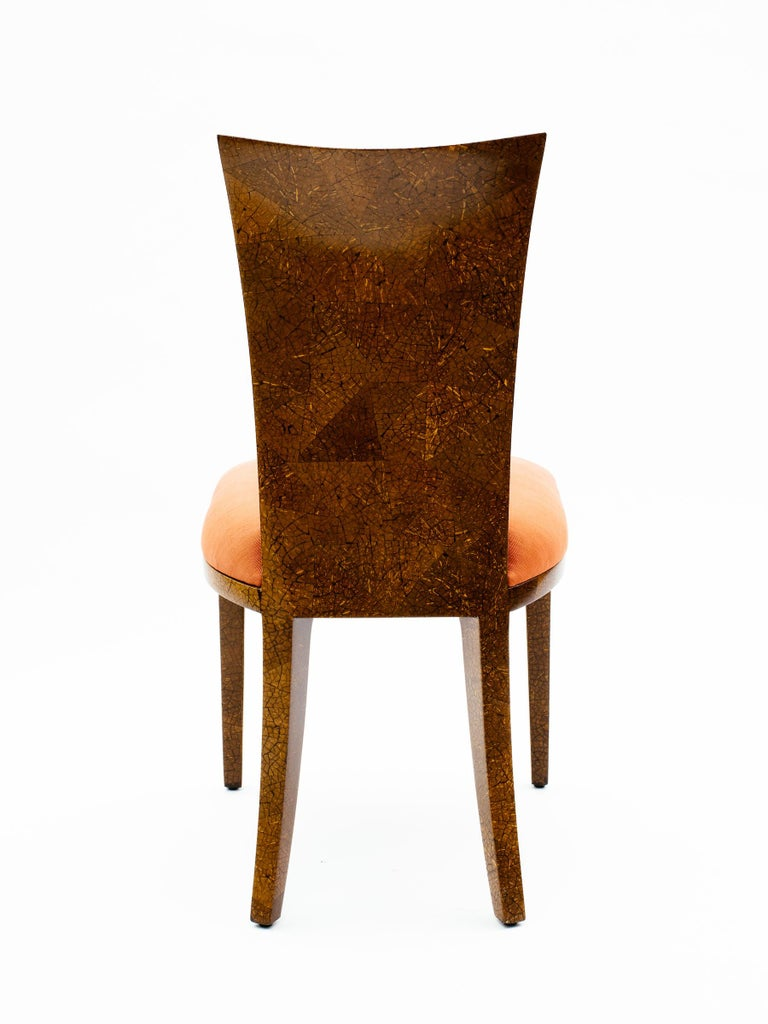 Pair of R & Y Augousti Coconut Shell Chairs For Sale 2