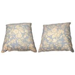 Pair of Ralph Lauren Down Pillows