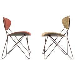 Pair of Raoul Guys 'Antony', Chairs Designed for Cite University, Paris ,1954