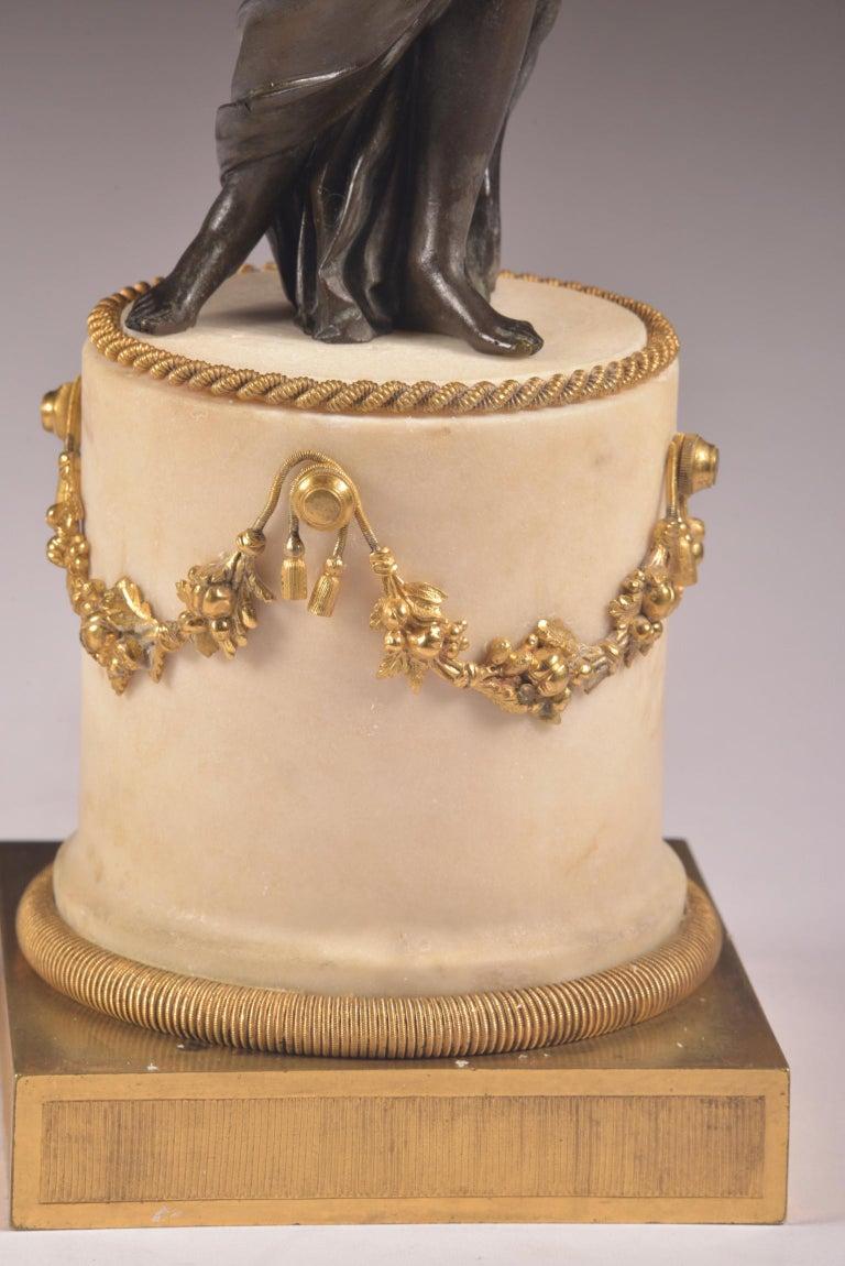 Pair of Rare 18th Century, Louis XVI Ormolu, Candelabra, circa 1785 For Sale 1