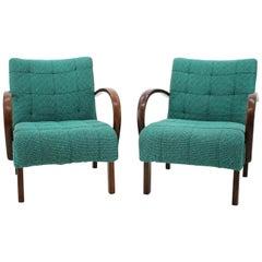 Pair of Rare Catalog armchairs, Thonet, 1902