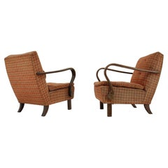 Pair of Rare Design Armchairs H-320 by Jindřich Halabala - 1940s